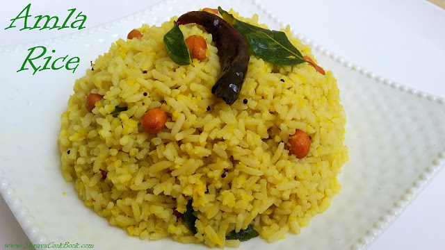 how to make amla rice - usirikaya pulihora
