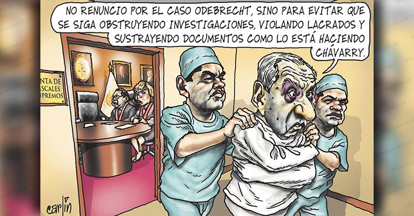 Carlincaturas Miércoles 9 Enero 2019 - La República