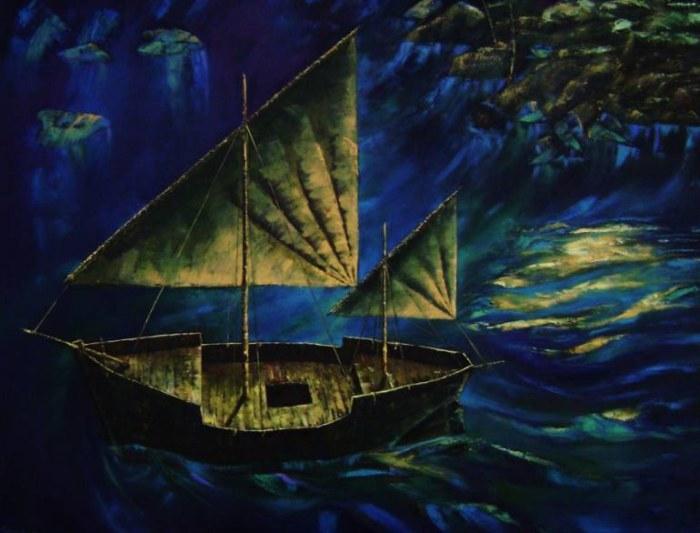 Колумбийский художник. Rodrigo Piedrahita