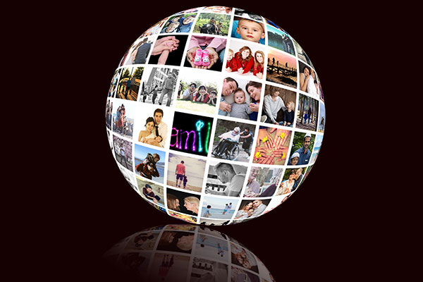 picture editing how to create a spherical collage in photoshop