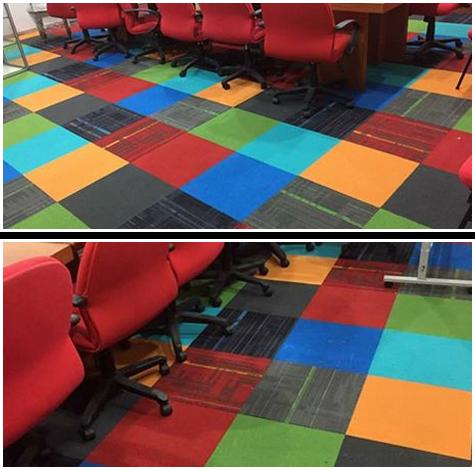 Contoh 3 : Kreativiti dari seorang pelanggan di Selayang. Beliau mahukan konsep warna warni.