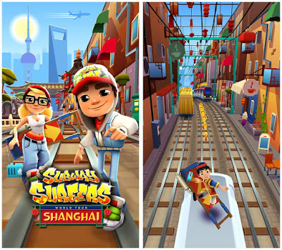 Subway surfers shanghai unlimited coins