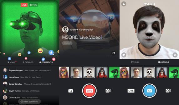 手機直播大戰升溫!YouTube 加入戰局、Facebook 添 MSQRD 特效等 3 大更新