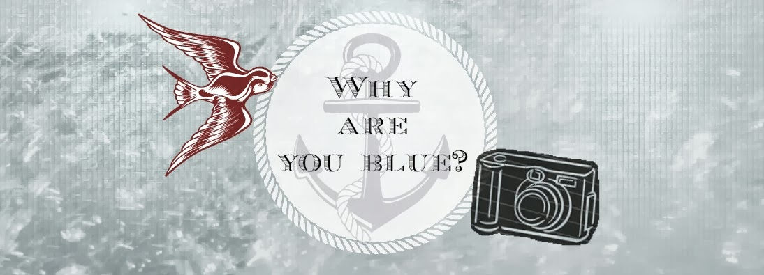 Why are you blue?
