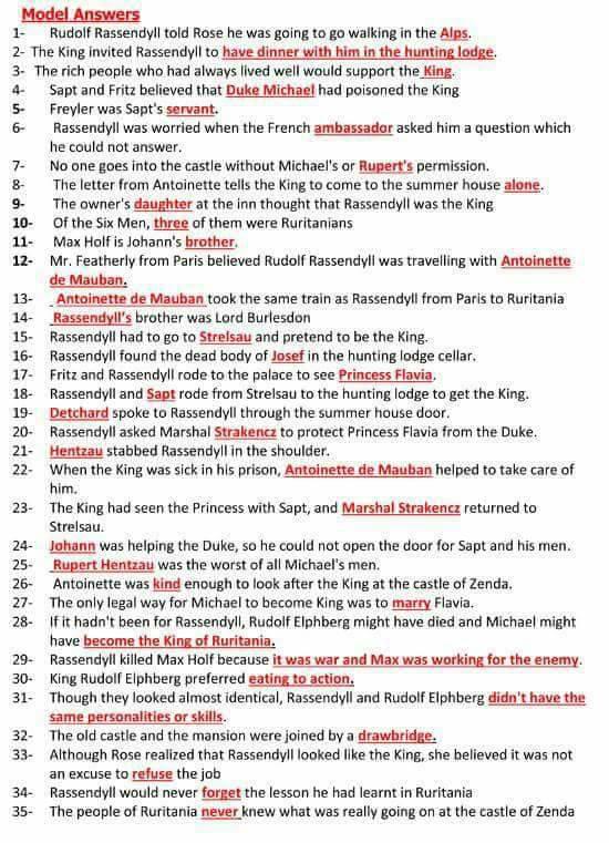 8 ورقات مهمين جدا لطلاب 3 ثانوي احفظهم كويس جدا وقفل امتحان اللغة الانجليزية 2