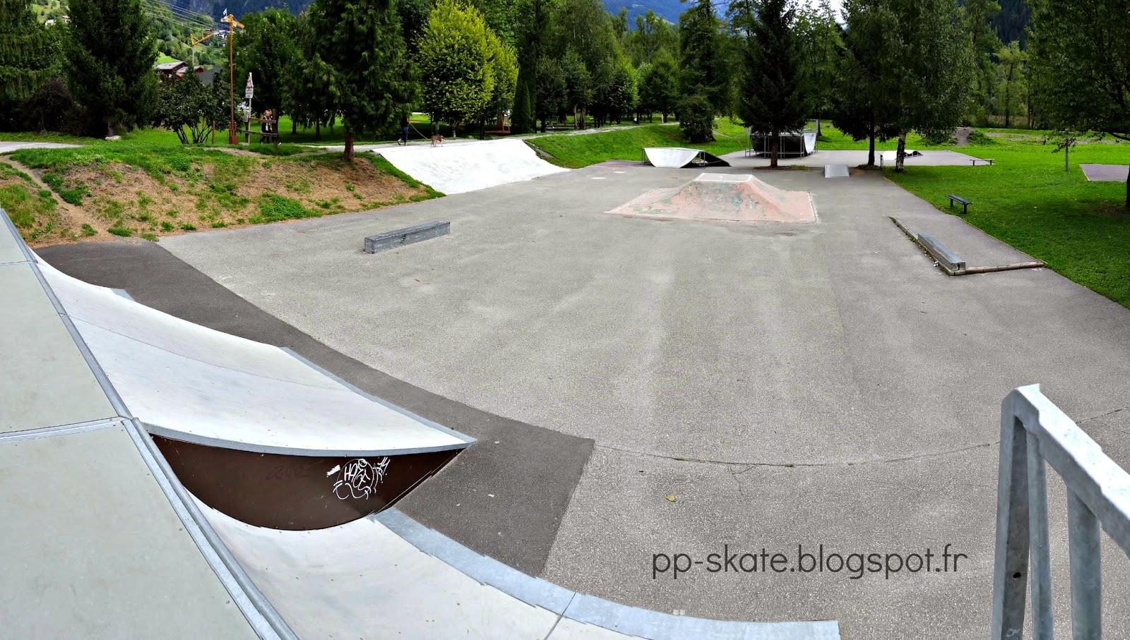 Skatepark bourg saint maurice