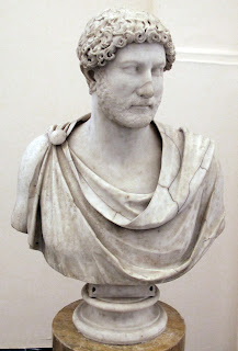 A bust of Hadrian from the Farnese Collection in Naples