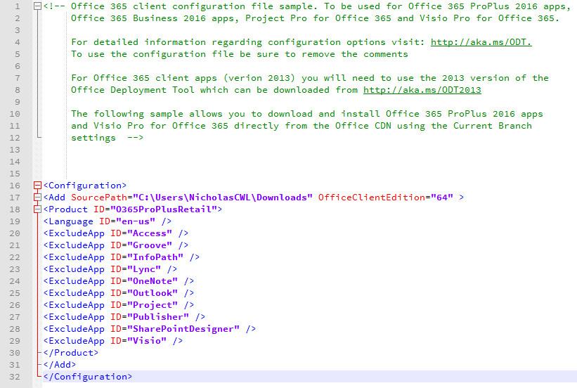 萌萌哒粗乃丸!: [Hard] How to customize Office 16 installation?