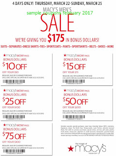 Macy's coupons february 2017