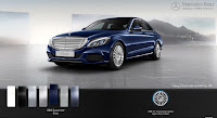 Mercedes C250 Exclusive 2015 màu Xanh Cavansite 890