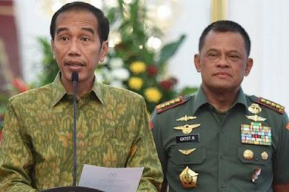 NasDem Usulkan Jenderal Gatot Jadi Pendamping Jokowi di 2019