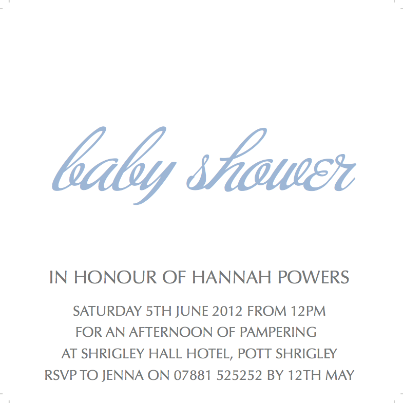 CocoCards: Baby Shower Invitations