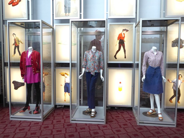 20th Century Women movie costume exhibit