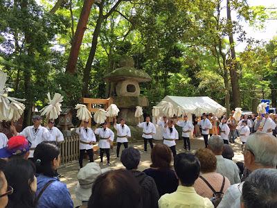 越谷お木曳祭二十周年写真展(平成27年5月3日)