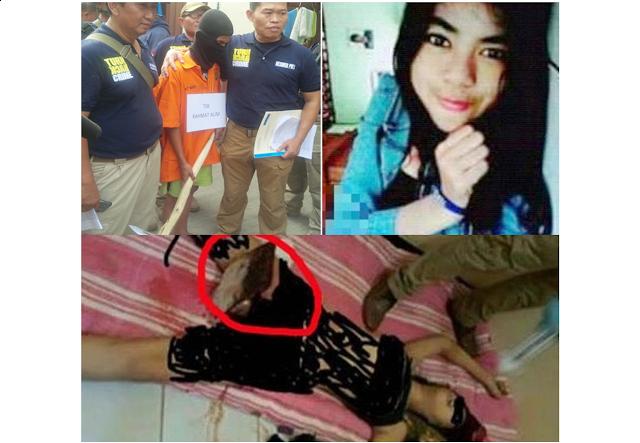 Netizen FB Heboh , Pembunuhan Eno dengan Memasukan Gagang Pacul Ke Kemaluan,SUNGGUH BIADAB