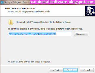 Cara Instal Telegram