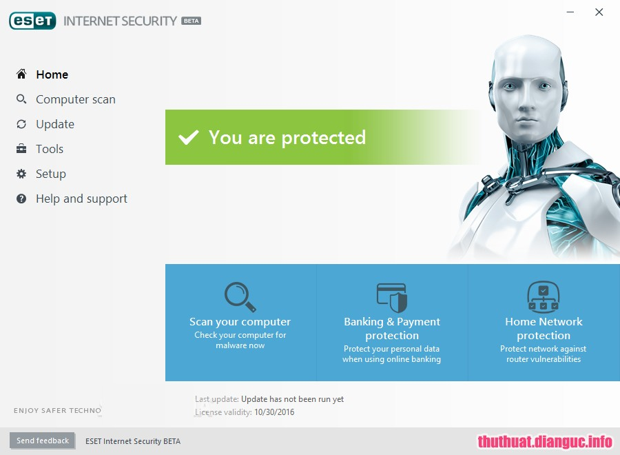 Download ESET Internet Security 12.1.31.0 Full key