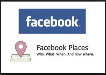 How to show location on facebook