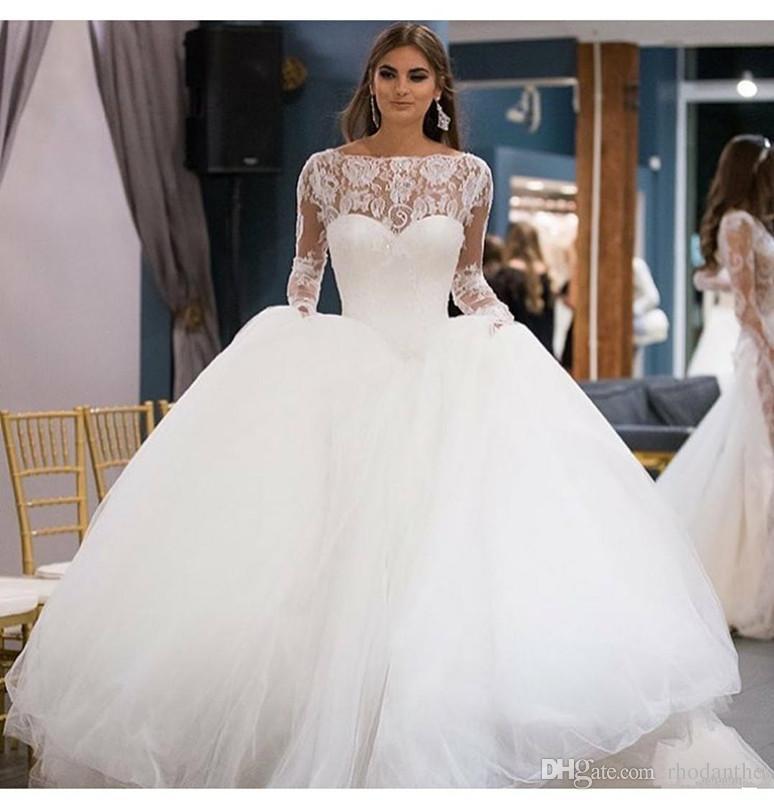 Ball Gown Wedding Dresses: Ball Gown Wedding Dress 2018