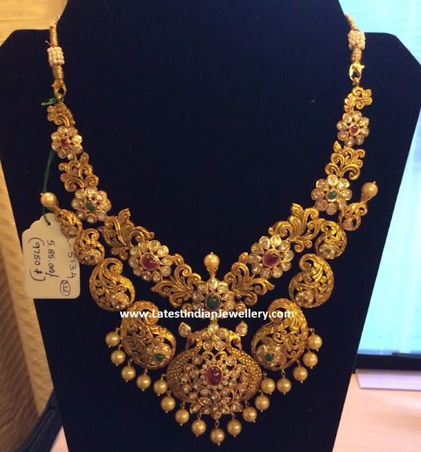 Paisley Grand Gold Necklace