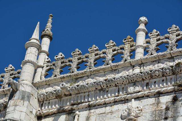 Jeronimos Monastery Lisbon roof