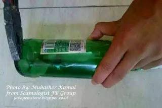 zamrud botol