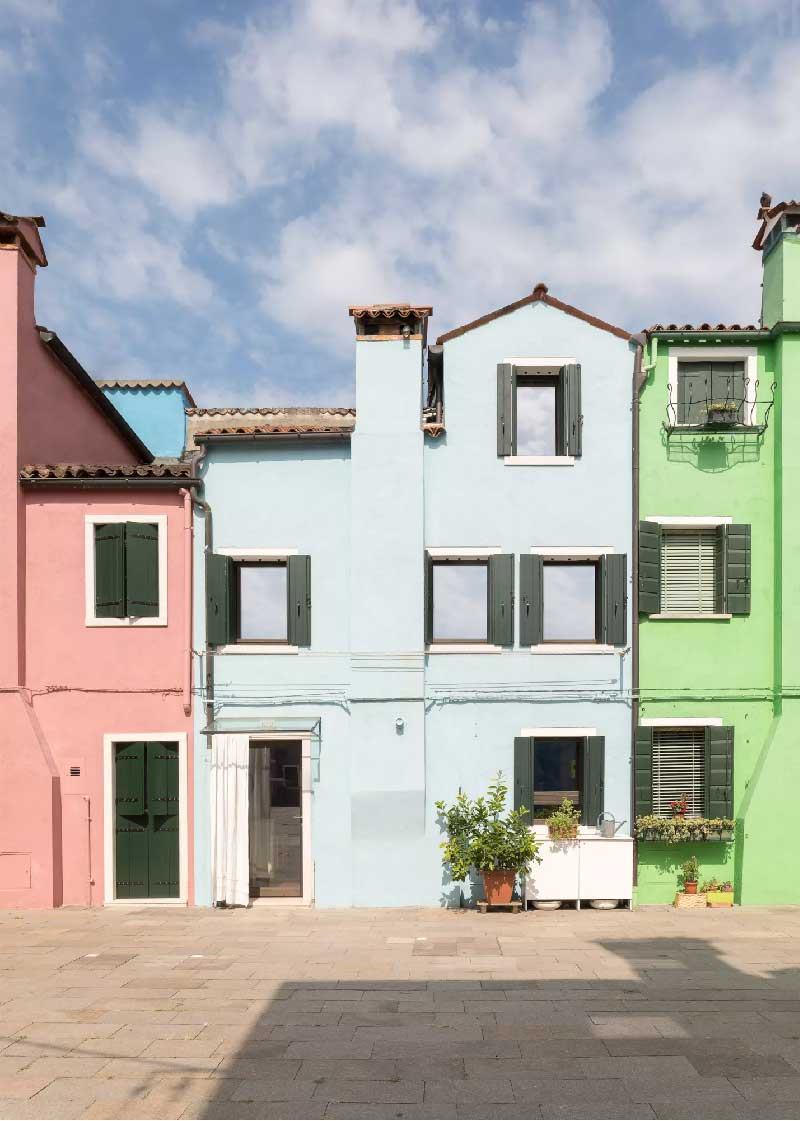 Cyan House Burano