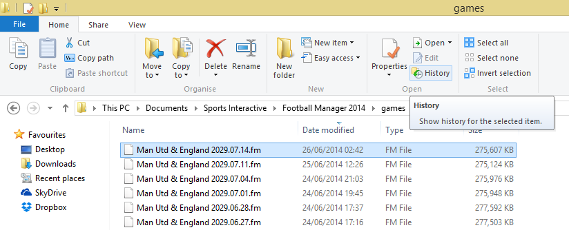 FM Windows 8 Restore