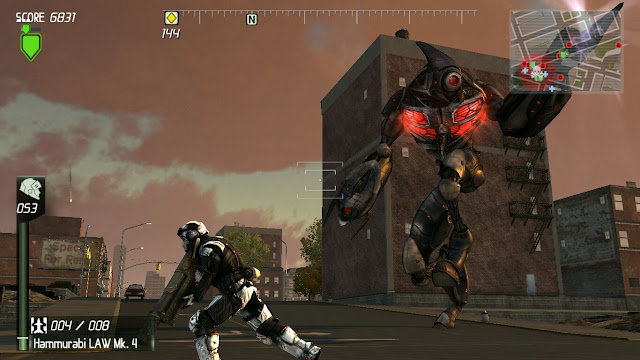 Earth Defense Force Insect Armageddon PC Free Download Screenshot 2