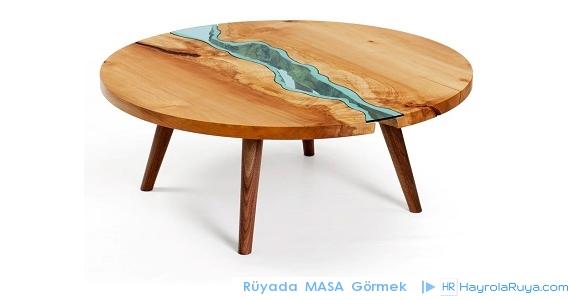 Rüyada Masanın Görülmesi