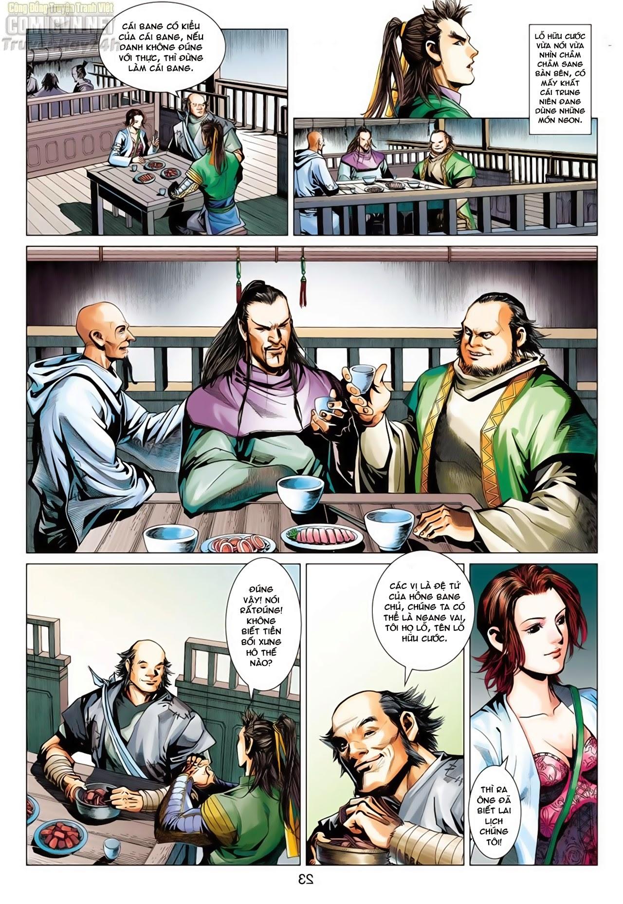 Anh Hùng Xạ Điêu anh hùng xạ đêu chap 65: cái bang tân chủ trang 23