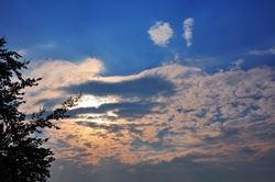 Ein Wolkenzwinkern...