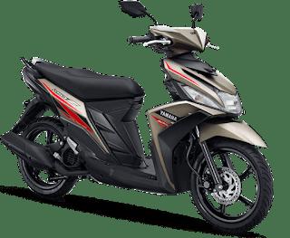 Pilihan Warna Brown Yamaha Mio Z