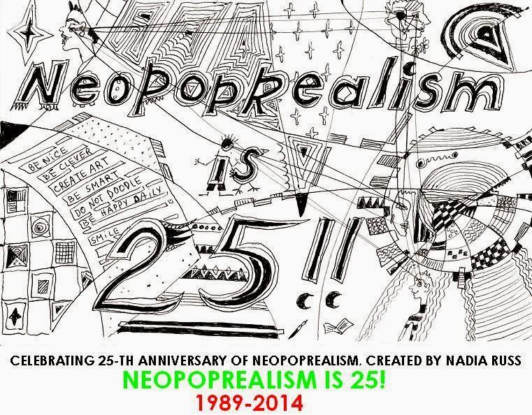 NeoPopRealism is 25! - Imaginative Abstract NeoPopRealism ink pen