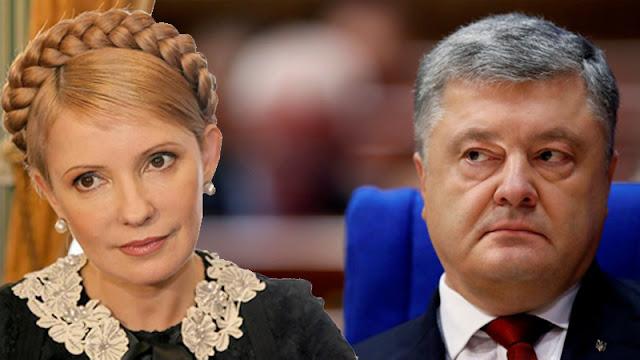 8 из 10 украинцев не одобряют работу Порошенко, электоральным лидером является Тимошенко
