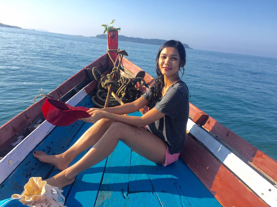Singer Ah Moon At Ngapali Beach