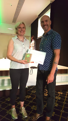 Helen & Philip - founders of Huntun Tai Chi™ with their Outstanding Achievement Award