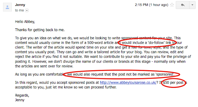 how to respond to bad blogger PR emails