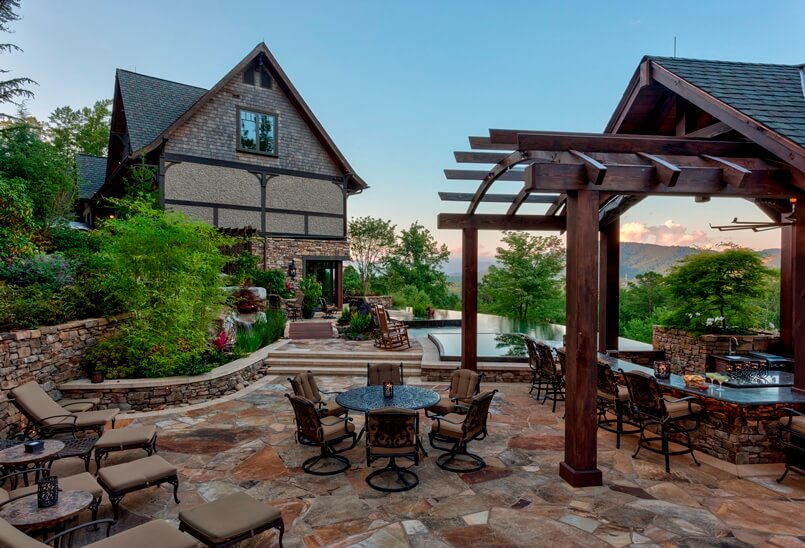 Essentials for creating cozy outdoor living room design for Creating an outdoor living space