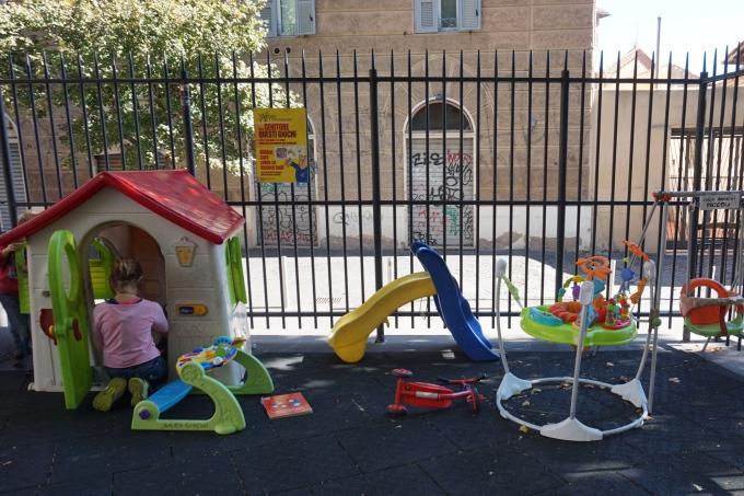 Kokemuksia Roomasta lasten kanssa - Trasteveren paras lasten leikkipaikka