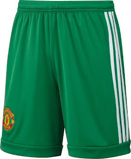 a4c30579700 A remarkable seam runs centrally across the front of the Adidas Manchester  United Goalkeeper Kit