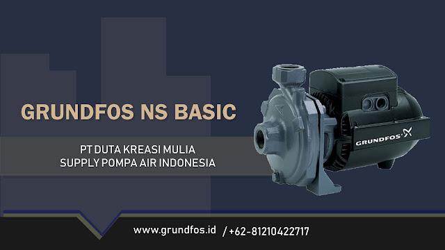 Katalog Pompa Grundfos NS Basic