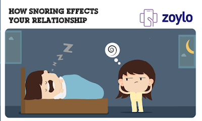 online snoring effects on relationship