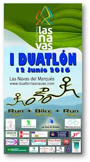 I DUATLÓN LAS NAVAS (Ávila) 12 de junio 2016