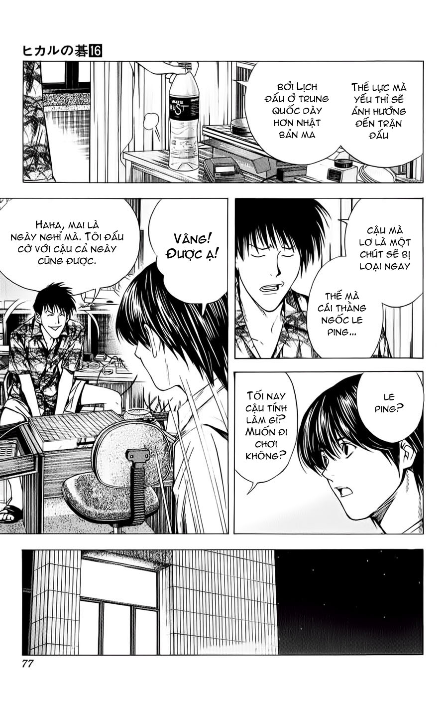 Hikaru No Go hikaru no go chap 134 trang 8