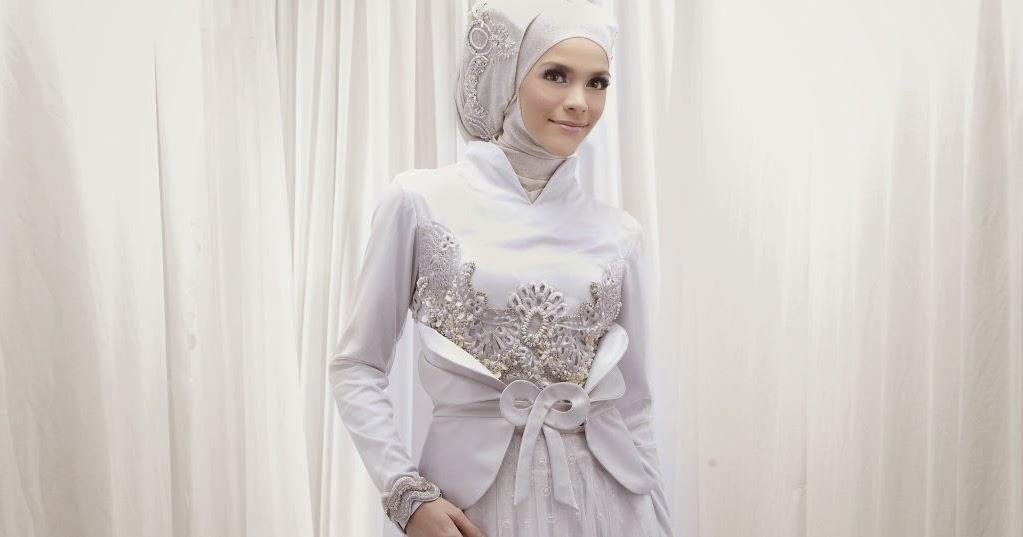 Kerudung Cantik Untuk Gaun Pengantin Muslimah