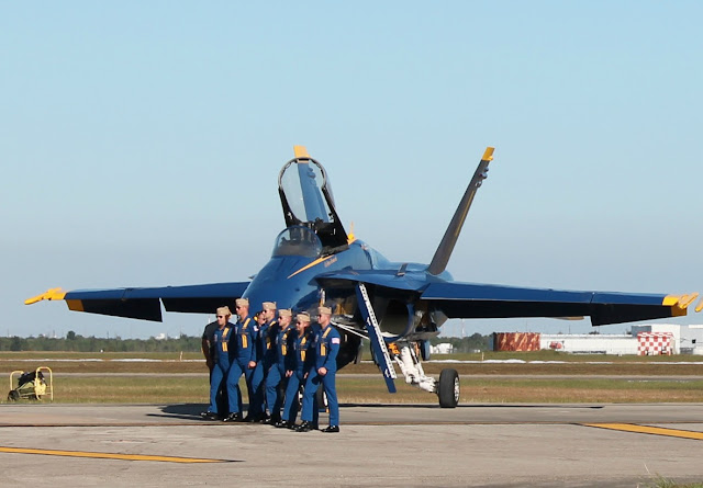 Blue Angels - Wings Over Houston Air Show 2016