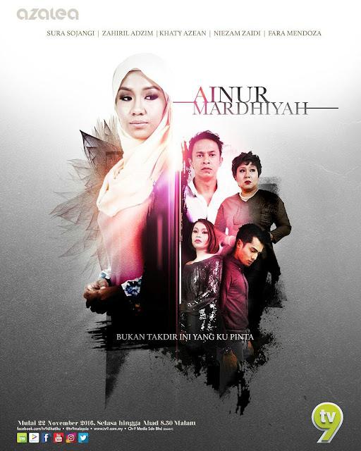 poster drama ainur mardhiyah tv9