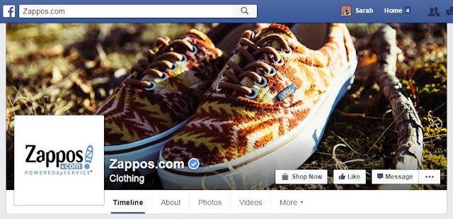 Zappos Facebook Cover Photo
