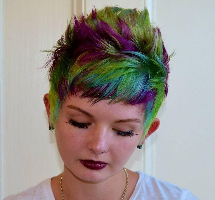 Colorful Short Haircuts!!! - The HairCut Web